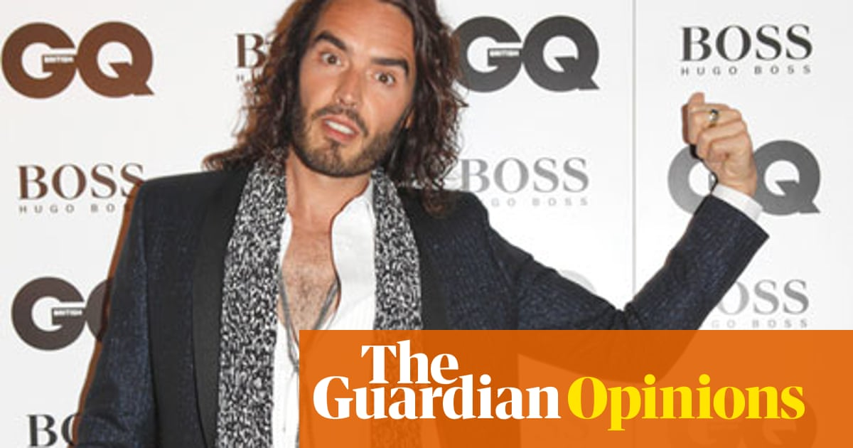 b81590266 Russell Brand and the GQ awards: 'It's amazing how absurd it seems ...