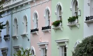 Terraced housing in London
