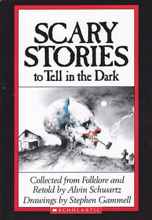 ALA : Scary Stories (series), by Alvin Schwartz Reasons: Unsuited for age group,