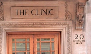 The London Clinic, where Pinochet was arrested in 1998