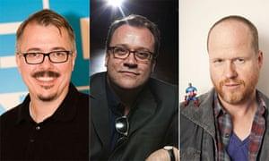 Vince Gilligan, Russell T Davies, Joss Whedon