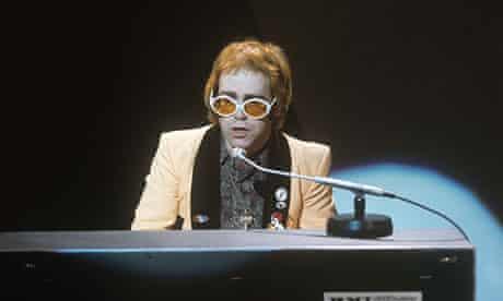 Elton John on Russell Harty Plus, 1973.