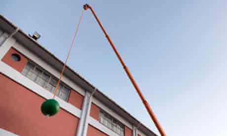 istanbul biennial Ayse Erkman wrecking ball bangbangbang