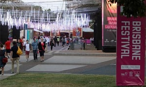 Brisbane festival: Southbank in the daytime