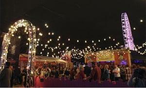 Brisbane festival: Spiegeltent