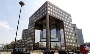 The PricewaterhouseCoopers building, London Bridge.