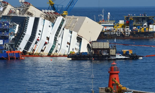 Costa Concordia: cruise ship lifting a success – as it