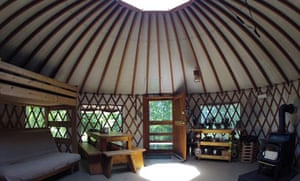 Frost Mountain Yurts, Maine