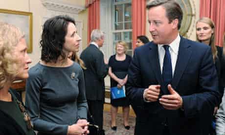 David Cameron meets Helena Morrissey