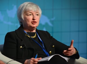 Janet Yellen, Vice Chair of the US Federal Reserve System.