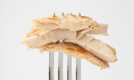 Beyond meat chicken fork