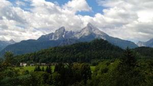 Alternative Germany: watzmann mountain