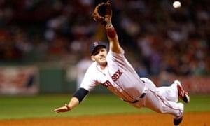 Stephen Drew of the Boston Red Sox vs New York Yankees