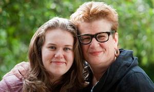 Meg Rosoff and daughter