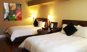 The Independent Hotel bedroom