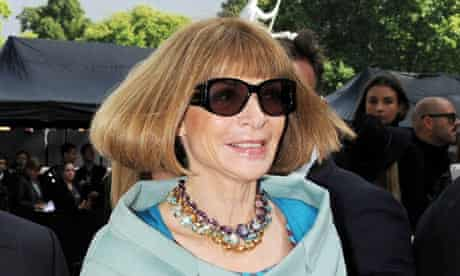American Vogue editor Anna Wintour