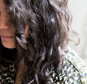 Frizz-free tamed hair