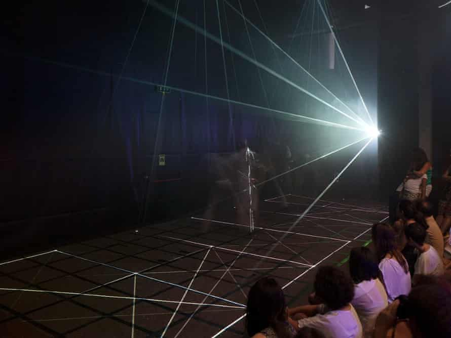 Inside the mainframe … Pushing Boundaries by UK collective Marshmallow Laser Feast.