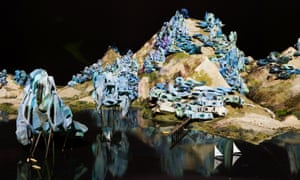 Future Perfect? … A model of a fictional future city features in Close, Closer, the third Lisbon Architecture Triennale.