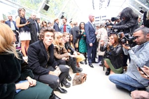 David Levene at LFW: Harry Styles