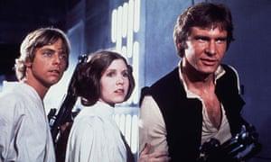 Star Wars: Luke Leia and Han Solo