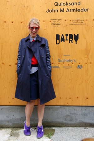 "London Fashion Week "" LFWplog Nicola Rose from Red outside Stella McCartney"