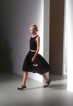 "London Fashion Week "" LFWplog Some catwalk shots from Simone Rocha"