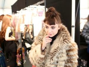 "London Fashion Week "" LFWplog Fashion East at Topshop Space - seamstress"