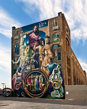 Mural Philly: Common Threads Mural