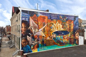 Mural Philly: Peace is a Haiku Song Mural