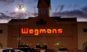 Wegmans supermarket exterior