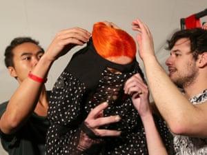 """London Fashion Week """" LFWplog Meadham Kirchhoff at Topshop space"""