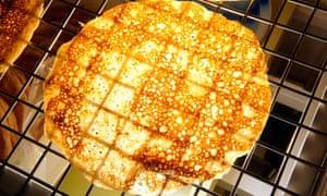 An oatcake
