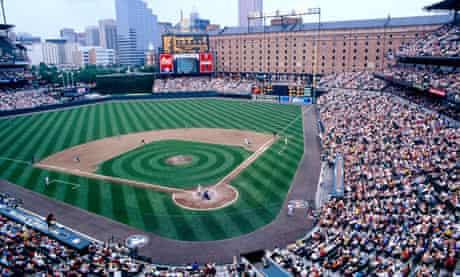 Baseball at Oriole Park at Camden Yards. BALTIMORE.