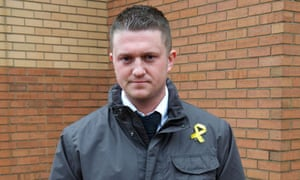 English Defence League leader Tommy Robinson