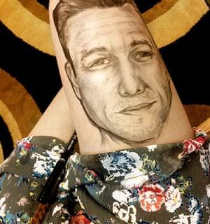 Thigh Doodles: Joseph Gordon Levitt thigh doodle