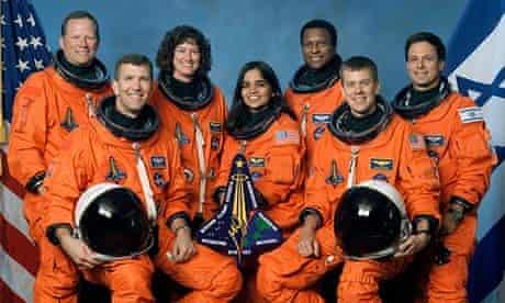 Columbia space shuttle crew lost in crash 2003