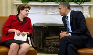 Dilma Rousseff Barack Obama