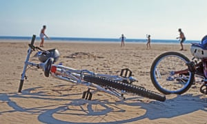 Bicycles on the beach