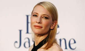 Autralian actor Cate Blanchett arrives for the UK premiere of Blue Jasmine in Leicester Square, London.