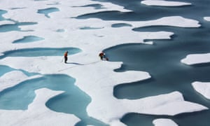 The seven summers with the lowest minimum sea ice extents have all occurred in the last seven years.