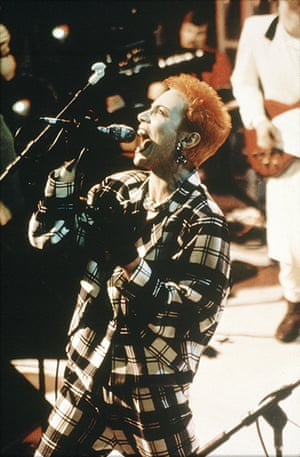 The Tube gallery: Annie Lennox from The Eurythmics