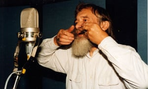 John Wright recording with the jew's harp. He was an international demand as a performer.