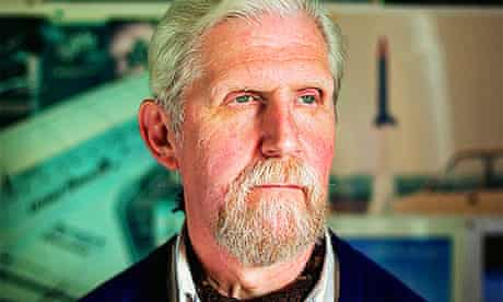 The organiser of  International Rocket Week, John Bonsor