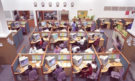 Bangalore Employees at a call centre