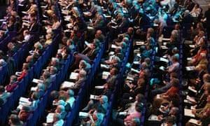Lib Dem conference delegates