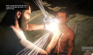 Grand Theft Auto 5 torture scene