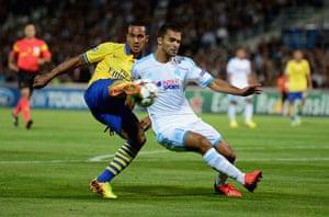 Arsenal: Olympique de Marseille v Arsenal - UEFA Champions League