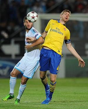 Arsenal: Olympique Marseille v Arsenal