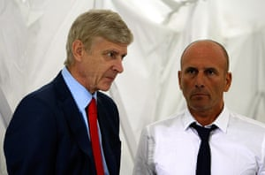 Arsenal: Arsene Wenger, Elie Baup